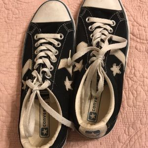 Women's vintage look Converse low tops
